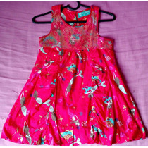 Vestido Pink Estampa De Sereia E Detalhes Em Lantejolas