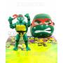 Tartaruga Ninjas Boneco + Mascara Emite Som Acende Os Olhos
