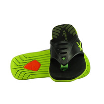 Chinelo Kenner Level - Preto/verde - Original