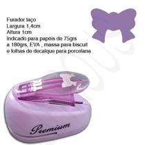 Furador Scrapbook Eva Laço Altura 1cm Largura 1,4cm