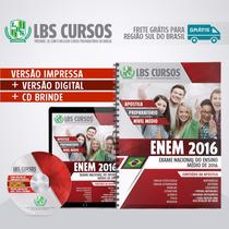 Apostila Impressa Enem 2016 Volume Completo Frete Grátis Sul