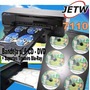 Kit Bandeja 6 Cd Dvd Blu-ray Hp 7110 Impressora A3