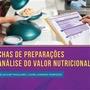 Livro - Fichas De Preparações E Análise Do Valor Nutricional