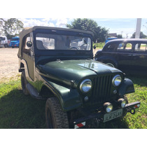 Jeep Willys 75 Pick-up F75 Cachorro Louco Conversivel