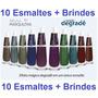 Esmalte Degradê Coleção Completa Bruna Marquezine C/ 10 Und