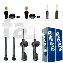 4 Amortecedores Nakata + Kits Renault Clio 1.6 2000/2013