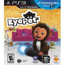 Eye Pet - Ps3 - Ps Move - Usado - Madgames