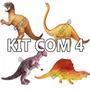 Kit Brinquedo Dinossauro Borracha T. Grande (ver Vídeo)