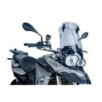 Bolha Parabrisa Para Moto Bmw F800gs Puig Com Defletor Alta