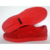 Tênis Hocks Flat Lite Red Skate Sneaker + Frete