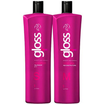 Fox Gloss Escova Progressiva 2x1000ml + Brinde Especial
