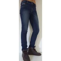 Claça Jeans Masculina Skiny Com Elastano
