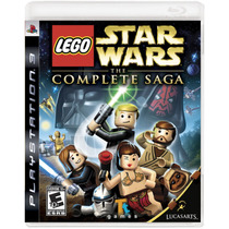 Lego Star Wars Complete Saga - Jogo Ps3 (seminovo)