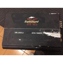 Modulo Explosound Xm 1600