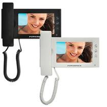 Vídeo Porteiro Eletrônico Tela 7 Polegadas Com 2 Monitores