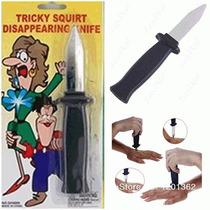 Faca Canivete Falso Retrátil - Brincadeiras E Pegadinhas
