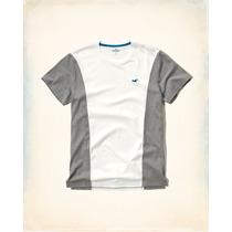 Camiseta Hollister Original Masculina Blusas Frio Tommy Gap