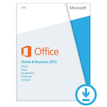 Microsoft Office Home Business 2013 Cartão Key Nova Original