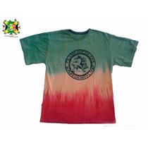 Camiseta Leão De Judah Masculina Cores Do Reggae