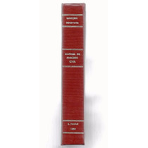767 Lvr- Livro 1955- Manual Do Processo Civil- Marijeso Bene