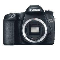 Câmera Canon Eos 70d Corpo 20.2 Mp, Lcd 3 , Full Hd Nova
