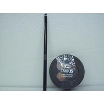 Kit Quarteto Para Sombrancelhas + Pincel Chanfrado Dailus