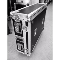 Case Para Behringer Midas M32 C/ Cablebox 2 Tampas E Rodas