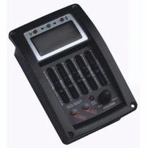 Captador Equalizador Para Violão Com Afinador Eq500t 5bandas