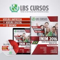 Apostila Impressa Enem 2016 Volume Completo