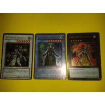 12 Cartas Yugi Oh Originais Konami 3 Cartas São Raras