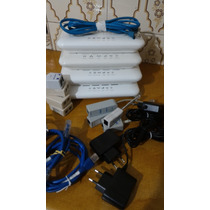 Modem Roteador Wifi Vivo/telefonica C/ Usb 3g Kit Completo