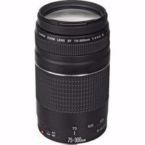 Lente Canon Ef 75-300mm F/4-5.6 Iii Auto Foco Ultra Zoom