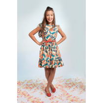 Vestido Infantil Mais Miss Estampa Digital