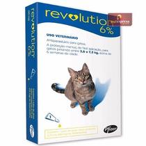 Revolution 6% Antipulgas Gatos De 2,5 A 7,5 Kg - 1 Ampola