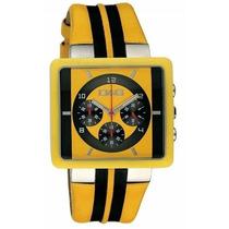 D&g Dolce & Gabbana Watch Cream Relogio Crono Dw0063