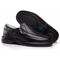 Sapato Masculino Social Casual Antistress Couro Ref. 0751