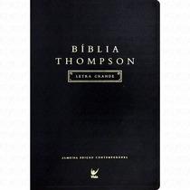 Biblia De Estudo Thompson Letra Grande Luxo Preta