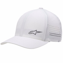 Boné Alpinestars Ventilite Flexfit Masculino Branco