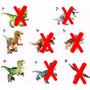 Boneco Lego Dinossauros Jurassic World Park Minifigures