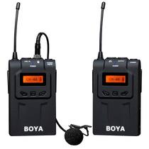 Microfone Lapela Sem Fio Boya By-wm6 - Uhf Wireless