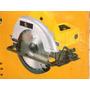 Serra Circular 1050w Satools 110v +disco 24d Madeira Amarela