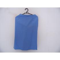 Saia Social Azul Plus Size Cód. 630