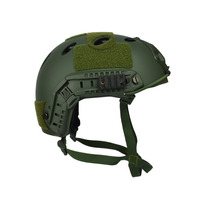 Capacete Tático Paintball Airsoft Fast 1 Elite - Verde
