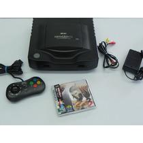 Neo Geo Cd - Controle Snk - Fatal Fury 3 Original