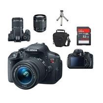 Canon Eos T5i Lente 18-55mm Stm + Bolsa+tripé+32gb Classe10