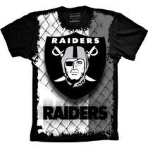 Camiseta Raiders Oakland Futebol Americano Camisa Raiders