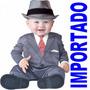 Fantasia Bebe 6-12 Meses Paleto Menino De Negocios Importada