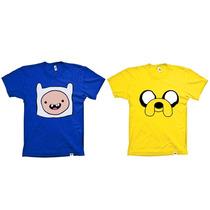 Camisetas Infantis Hora De Aventura - 2 Por Apenas R$43,00