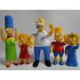 Coleção Bonecos Simpsons Mexe Braço Cabeça Perna Tem Luz Led