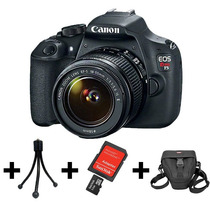 Camera Canon Eos T5 +lente 15-55mm +nf+garantia Canon Brasil